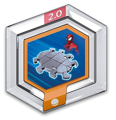 DISNEY INFINITY POWER DISCS 1.0 Wave 1,2,3 & RARES, works with 2.0 & 3.0#1 Marvel - Spider Glider