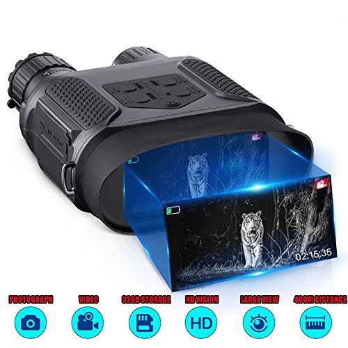 Digitales Nachtsichtfernglas, AKE Fotos & Videos - 3,5-7X31 Mm Infrarot-Spionageausrüstung 850 Nm IR - 4-Zoll-Großbild-1300-Fuß-Sichtbereich, Ideal Zum Wandern, Schießen, Reisen, Jagen Im Freien