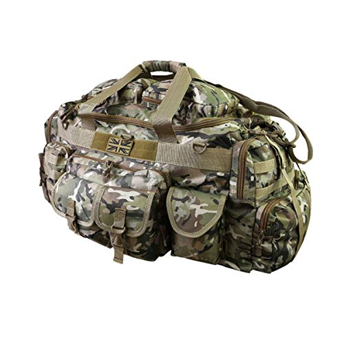 *New* Kombat Tactical Saxon Holdall - 100 Litre Military Kit Bag British Terrain Pattern/MTP