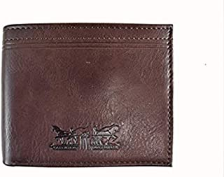 RFID Leather Wallet by Levi's Color Brown Model 31LF220Z01