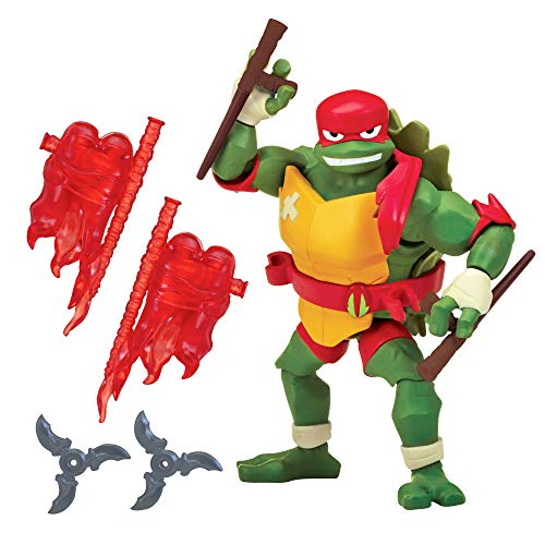 Rise of the Teenage Mutant Ninja Turtles 80804 ROTMNT Raphael Basic Action Figur, mehrere Farben