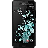 HTC U Ultra GSM (GSM Only, No CDMA) Factory Unlocked Single SIM (USA warranty) - LTE Bands B1/B2/B3/B4/B5/B7/B8/B12/B17/B20/B28 TDD: Bands B38/B39/B40/B41 w/ 2CA, 3CA - (Brilliant Black)