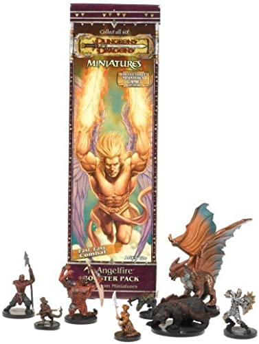 DD Dungeons Dragons Trading Miniatures Game Booster Pack Angelfire by Chessex