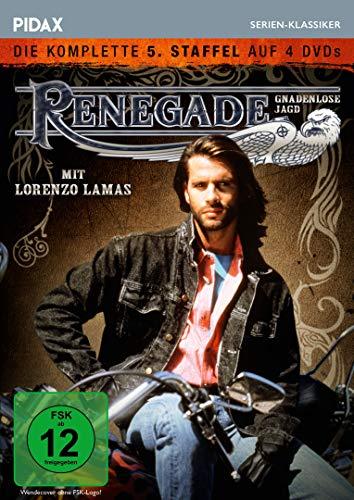 Renegade - Gnadenlose Jagd, Staffel 5 / Die letzten 22 Folgen der Kultserie (Pidax Serien-Klassiker) [4 DVDs]