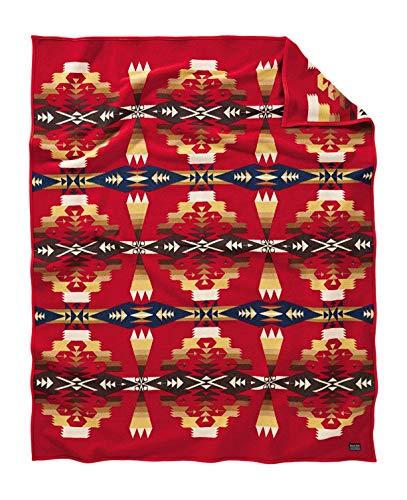 Pendleton Woolen Mills Decke Robe, Tucson Scarlet, Einheitsgröße