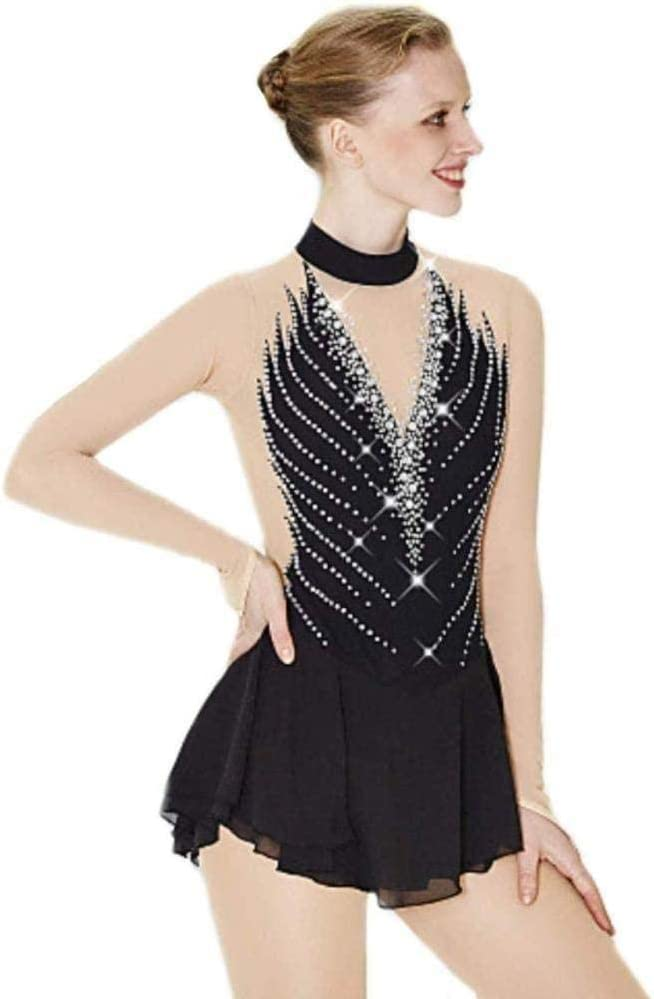 Skating Dress Women Girl Ice lowest price Sleeve Popular brand Handmade Long