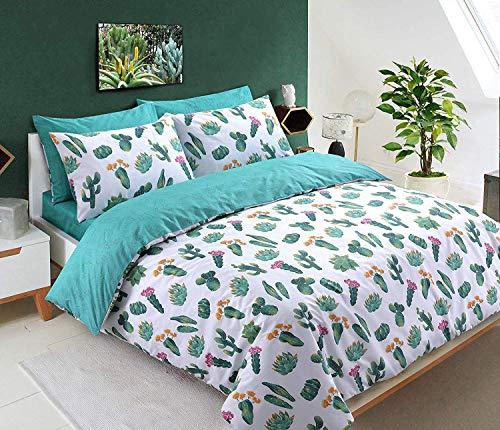 Sleep Down beddengoedset voor kingsize bedden, katoen, wit