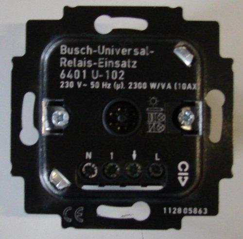 Busch-Jaeger 6401U-102 Busch-Universal-Relais-Einsatz 6401 U-102