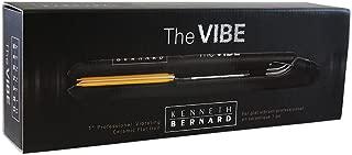 Kenneth Bernard Vibe Flat Iron - 1 Inch Professional Vibrating Ceramic Hair Straightener with Digital Heat Control