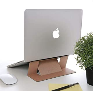 Moft Adhesive Laptop Stand Gold [For Laptops Up To 15.6-Inch]
