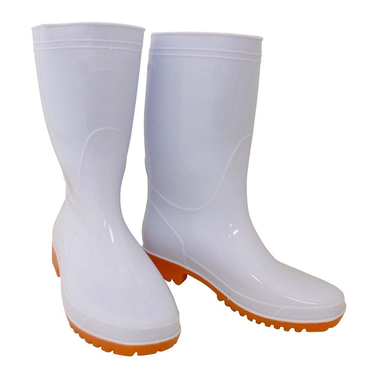 バッチ簡単に梨おたふく手袋 衛生耐油長靴 24.0cm WW-717