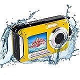 Unterwasserkamera Unterwasser Kamera zum Schnorcheln 2.7K 48MP Kamera Wasserdicht mit...