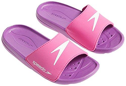 Speedo Kinder Badelatsche Atami Core SLD JF 807419 Pink/Violett 33