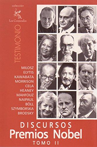 Discursos Premios Nobel: Tomo 2 (Spanish Edition)