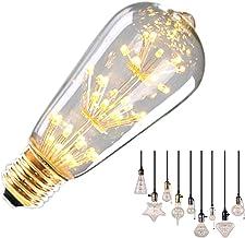 قطعتان من مصابيح LED الألعاب النارية الكلاسيكية , لمبات الإضاءة PC خارجية , E27 LED لمبات LED ضوء LED LED دافئ 220 فولت 3 ...