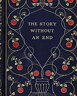 The story without an end: Antique blank notebook