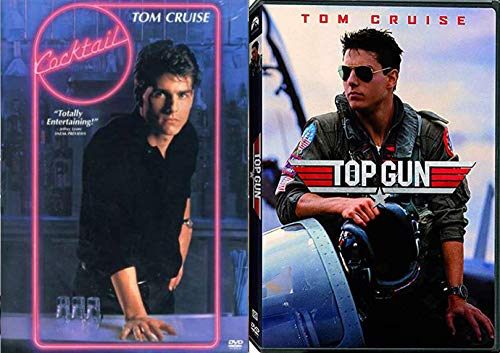 Tom Gun Top Cruise DVD Cocktail double feature bundle 80's movie set 2-pack collection