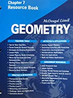 McDougal Littell - Geometry - Chapter 7 Resource Book 0618020705 Book Cover