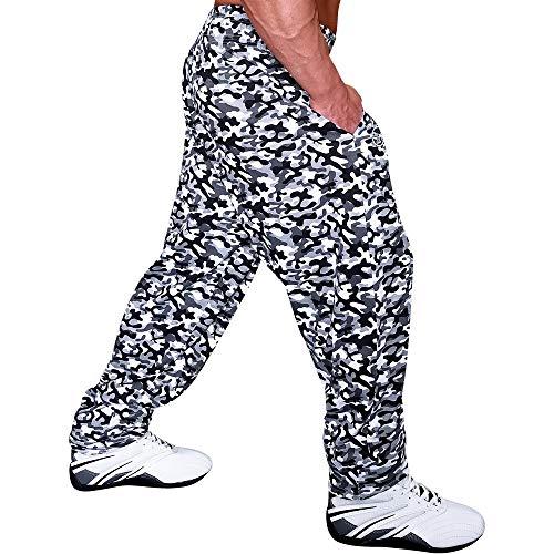 Otomix Baggy Gym Pants Grey Camo