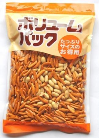 みの屋 柿の種 ピーナッツ入り 500g x 3個 セット 柿ピー