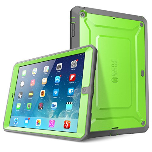 iPad Air Case, SUPCASE Heavy Duty Beetle Defense Series Full-Body Rugged Hybrid Protective Case Cove - http://coolthings.us