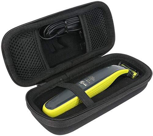Khanka Hart Tasche für Philips OneBlade QP2530/30 QP2520/20 Face Bartschneider Trimmer Etui Case.(Nur tasche-kleine)