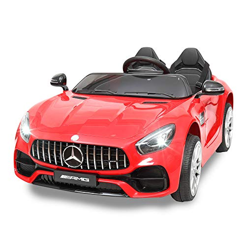 Product Image of the TOBBI 12V Kids Ride On Car Mercedes Benz Licensed Kids Electric car 2 Seater w/...