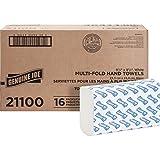 Genuine Joe Multi-Fold Paper Towel - 250 Sheets/Pack - 1 Pack - 9.5amp;quot; x 9.12amp;quot; - White