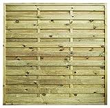 AVANTI TRENDSTORE - Lara - Pannello salvavista in Legno per Il Giardino, Disponibile in Diverse Misure (180x180 cm)