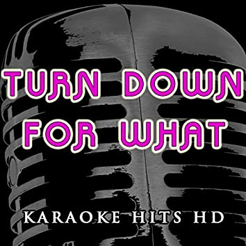 Turn Down for What (Instrumental Karaoke) [In the Style of DJ Snake and Lil Jon]