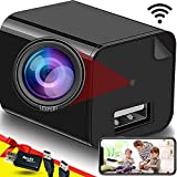 Spy Camera - Hidden Camera Wi-Fi - USB Charger - Hidden Camera Charger - USB Charger Camera - Surveillance Camera - Hidden Spy Camera - Hidden Nanny Cam - Full HD Wireless Remote View [Upgraded]