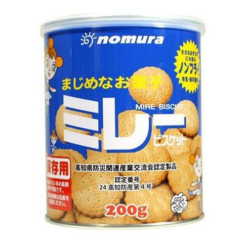 野村煎豆加工店 保存用ミレービスケット缶