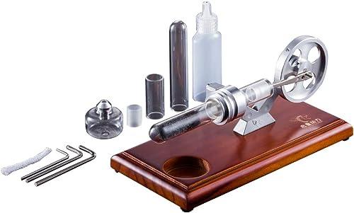YX-TOYS Yxczhis QX-RS-01 Thermoakustischer Stirlingmotor Stromgenerator Modell Spielzeug
