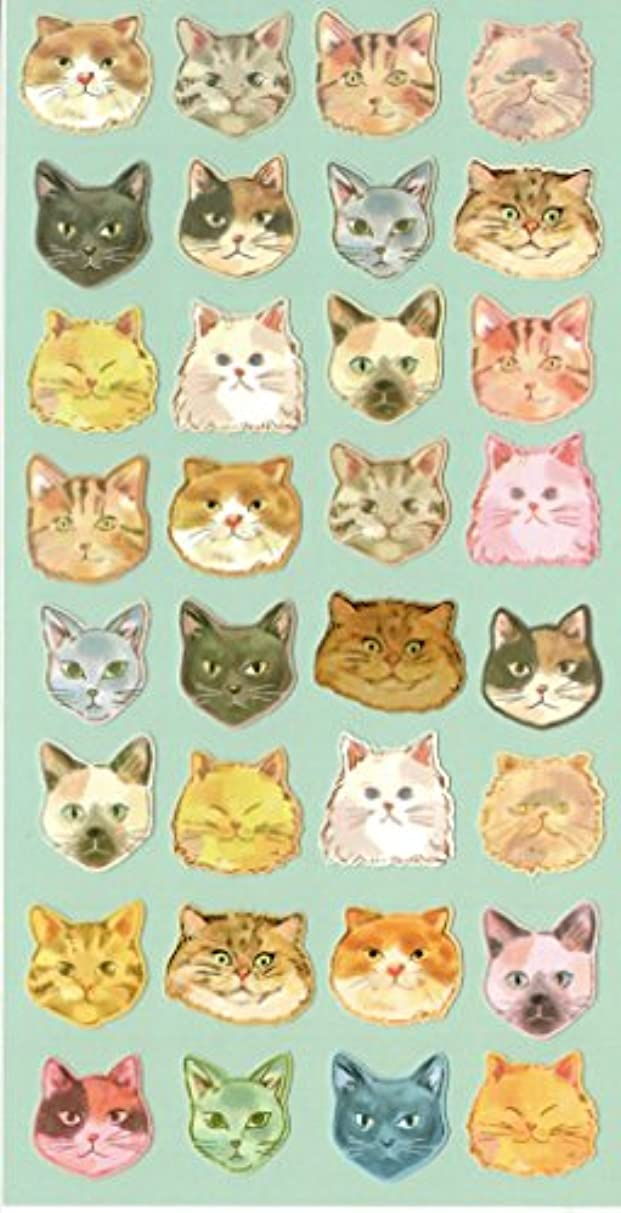[DECO FAIRY] Cat Head Lovely Kitty Overload