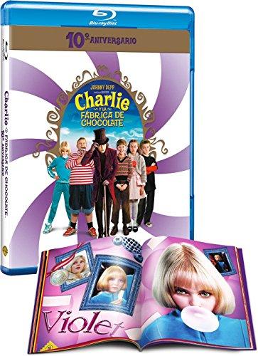 Charlie Y La Fabrica De Chocolate Edición Especial 10 Aniversario Blu-Ray [Blu-ray]