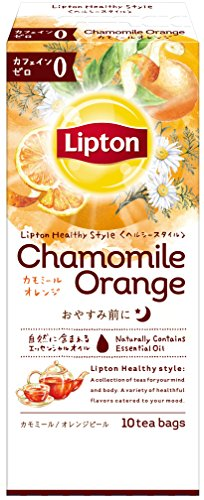 リプトン ヘルシースタイル カモミール・オレンジティー ティーバッグ 10袋×6個