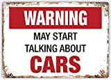 Jotora Warnung May Start Talking About Cars Blechmalerei,