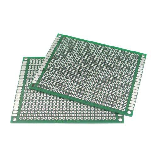 10 x Double side Protoboard Circuit Universal DIY Prototype PCB Board 6cmx8cm