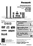Panasonic SA-PT950 SA-PT953 SA-PT1050 Home Theater System Instruction Manual Reprint [Plastic Comb] Every Instruction Manual