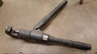 Burndy Y750-2 Revolver hypress Hydraulic Cable Crimper and case