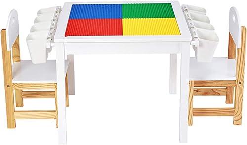 de moda Folding table and chair Mesa De Actividades para para para El Hogar De Los Niños, Mesa De Juego De Juguetes para BebéS, Una Mesa De Doble Uso, con Silla  calidad fantástica
