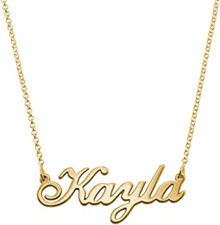 Best custom name necklace 14k gold Reviews