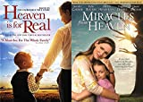 It's About The Upper Room: Heaven Is For Real & Miracles From Heaven 2 DVD Faith Based Bundle