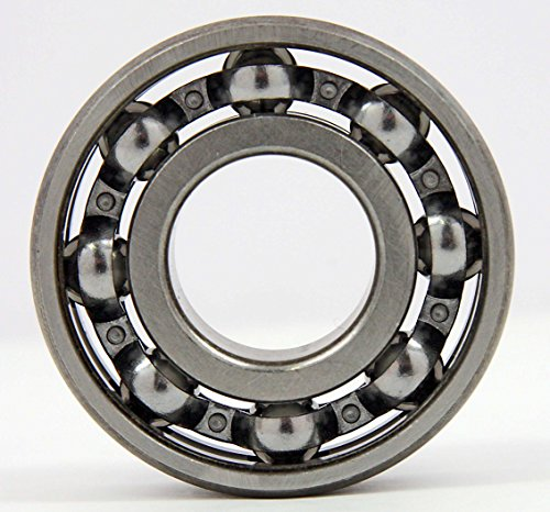 10 (Ten) Fidget Spinner Bearing, 608 Open, Chrome Steel Bearing Balls, 8x22x7, Ball Center Replacement Part Kit