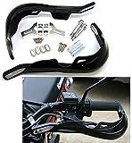 Universal 22 mm 7/8' Paramanos Guardamanos Handguards para Moto/Motocicleta Color Negro