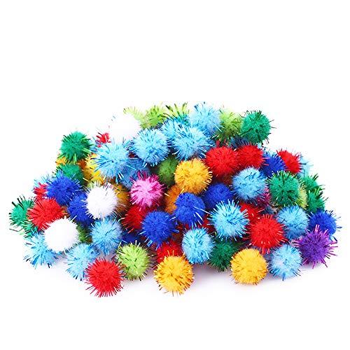 Rimobul Standard 10 Colors Sparkle Balls My Cat's All Time Favorite Toy - 1.5