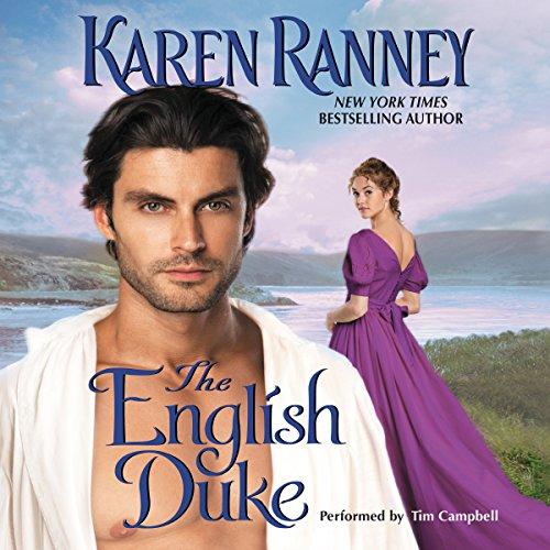 The English Duke audiobook cover art