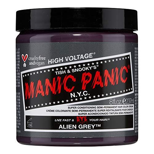 MANIC PANIC Alien Grey Hair Dye Classic Line 8oz