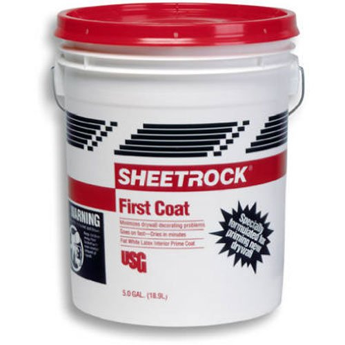 Sheetrock 544822 First Coat Primer Sealer, 5 Gallon, Off-White