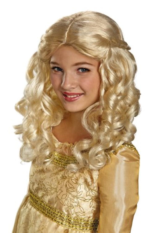 マレフィセント コスチューム 仮装 マレフィセント ディズニー ウィッグ 眠れる森の美女 グッズ プリンセス オーロラ姫 かつら 子供用ウィッグ